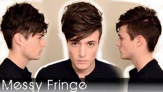 getlinkyoutube.com-Messy Fringe Like Louis Tomlinson | Men's Hairstyling 2014