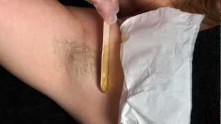 getlinkyoutube.com-Warm Waxing Techniques - Under Arm