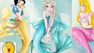 getlinkyoutube.com-Disney Mermaids