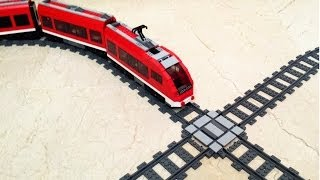 getlinkyoutube.com-HOWTO Create a LEGO Train X-cross