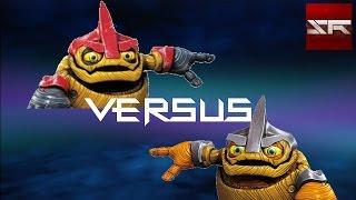 getlinkyoutube.com-Riot Evolved Shield Shredder vs. Shield Shredder - Boss Fight - Skylanders Trap Team - [German/HD]