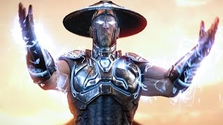 getlinkyoutube.com-Mortal Kombat X - Raiden Future Costume Klassic Arcade Ladder Gameplay Playthrough