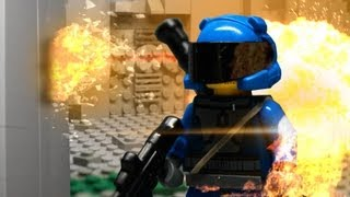 getlinkyoutube.com-FUTURE COMBAT: Operation red lizzard  - futuristic Lego Brickfilm