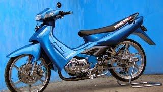 getlinkyoutube.com-Motor Trend Modifikasi | Video Modifikasi Motor Suzuki Satria 2 Tak Terbaru
