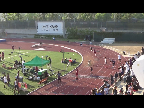 Mission League Finals: Varsity Boys 4 x 400