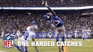 getlinkyoutube.com-Top 10 One-Handed Catches of All Time | NFL