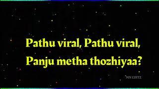 Dhavanipotta Deepawali whatsapp status lyrics with spectrum