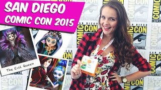 Берсик на San Diego Comic Con 2015 (SDCC, экслюзивные куклы Monster High и Ever After High)