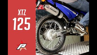 getlinkyoutube.com-PAOLUCCI - Escape Yamaha XTZ 125