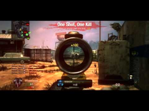 Black ops 1 & 2 sniper montage | Call of duty