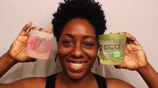 getlinkyoutube.com-The WashnGo Experience| Kinky Curly vs EcoStyler (Tapered Natural Hair)