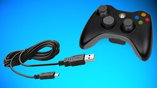 getlinkyoutube.com-HOW TO MAKE A XBOX 360 CONTROLLER WIRED / HOW TO CHARGE