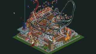 getlinkyoutube.com-Roller Coaster Tycoon: Micro Park Timelapse