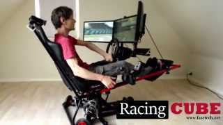 getlinkyoutube.com-3DOF Racing Simulator - Test Drive (RacingCUBE)