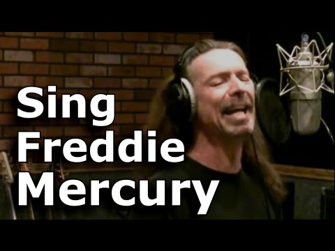 HOW TO SING LIKE FREDDIE MERCURY - QUEEN