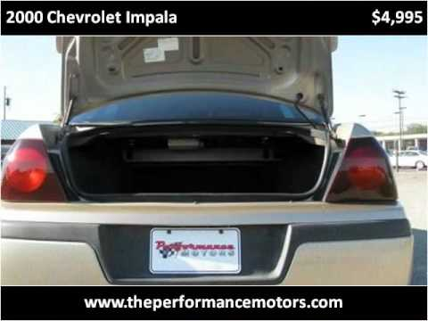 2000 Chevrolet Impala Problems, Online Manuals and Repair Information