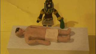 getlinkyoutube.com-Claymation of the mummification process