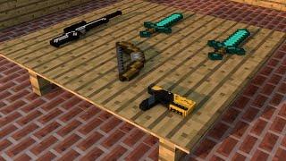 getlinkyoutube.com-Minecraft: ARMAS SEM MODS - Command Block