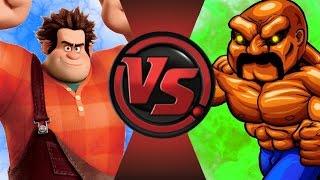 getlinkyoutube.com-WRECK-IT RALPH vs ABOBO! Cartoon Fight Club Episode 35