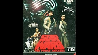 getlinkyoutube.com-Star Wars The Force Awakens Trailer 1980's VHS Style