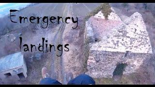 getlinkyoutube.com-Emergency landings - Paragliding Fails/Wins And Crashes