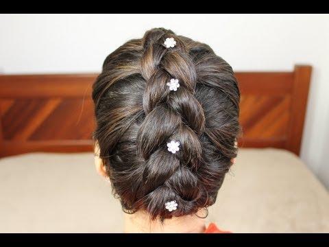Trança embutida invertida em cabelo curto / Penteados