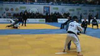 getlinkyoutube.com-JUDO 2009 Grand Slam Moscow: Georgii Zantaraia (UKR) - Sofiane Milous (FRA)