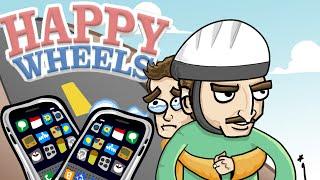 Happy Wheels - Отец и Сын. Безумные Уровни! (iOS)