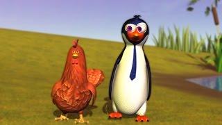 getlinkyoutube.com-El Pingüino y la Gallina - Canciones de la Granja de Zenón 3