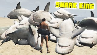 getlinkyoutube.com-GTA 5 Mods - NO WATER + TSUNAMI MODS! - (SHARK KING) - (GTA V PC - Fun With Mods)