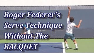 getlinkyoutube.com-Roger Federer's Serve Technique - Racquet Digitally Removed
