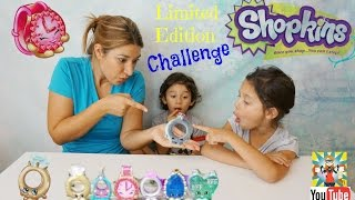 getlinkyoutube.com-Shopkins Limited Edition Challenge - How would you react?
