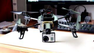 Attach GoPro to AR.Drone 2.0 - Tutorial