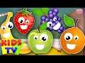 five little fruits   learn fruits   fruits song   nursery rhymes   kids songs