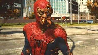 getlinkyoutube.com-The Amazing Spider-Man (Video Game) Walkthrough - Bonus 1: Water Treatment Facility (Rhino Boss)
