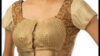 getlinkyoutube.com-Katori Blouse Cutting  and Pattern Making PART 1 (DIY)