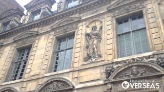 Le Marais Neighborhood in Paris, France