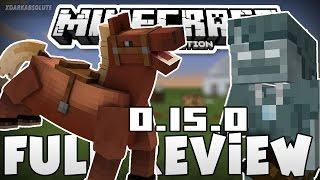 getlinkyoutube.com-Minecraft PE - 0.15.0 FULL REVIEW