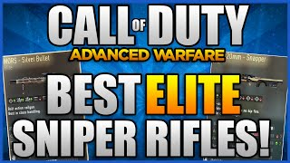 "Advanced Warfare - ""Best Elite Sniper Rifles""- Rare Elite Weapons (COD AW ""Rare Elites"")"