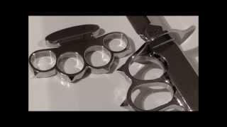 getlinkyoutube.com-How to make a Patent Boxer Style Knuckle Duster / Как сделать кастет