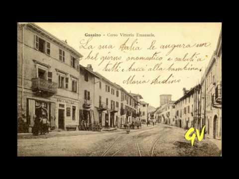 www.gassinovive.it Cartoline Antiche:Vie di Gassino Torinese
