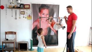 getlinkyoutube.com-Muscle-ups World Record , is one kid !