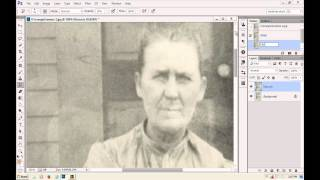 Digitally Retouch and Restore an Antique Photo with Suzette Allen