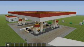 getlinkyoutube.com-Minecraft Tutorial: Gas station!