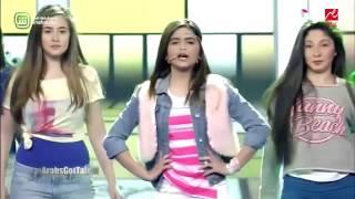Hala Al Turk In Arabs Got Talent English Song  حلا الترك في ارب قوت تالنت
