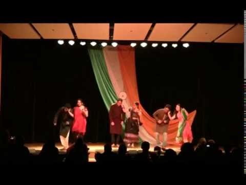 India Night 2014 (University of idaho) Dandiya and Raas Garba