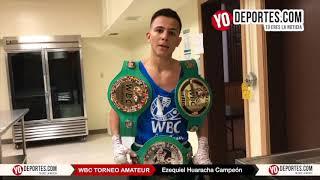 Ezequiel Waracha Triple Campeón WBC Torneo Amateur