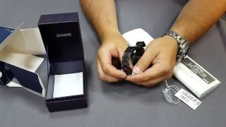 getlinkyoutube.com-Casio Protrek 3000 titanium black limited