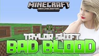 getlinkyoutube.com-Taylor Swift - BAD BLOOD Minecraft Xbox One Noteblock Song