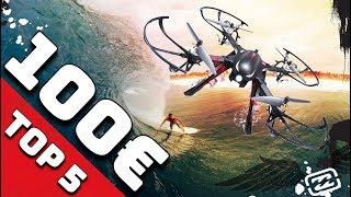 DROHNEN TEST 2018 ► TOP 5 beste Kamera Drohnen unter 100€